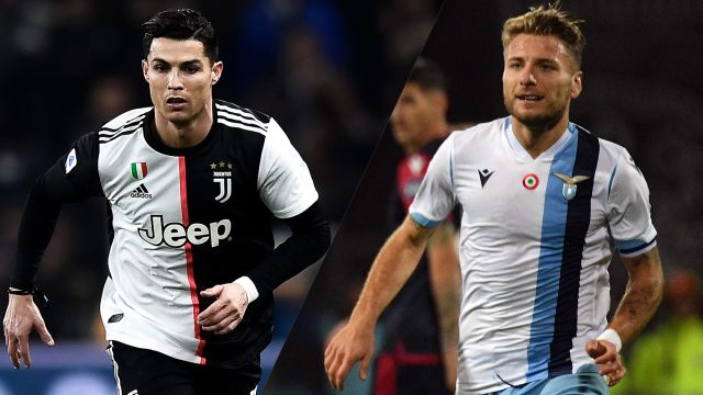 In Spanish-Juventus vs. Lazio