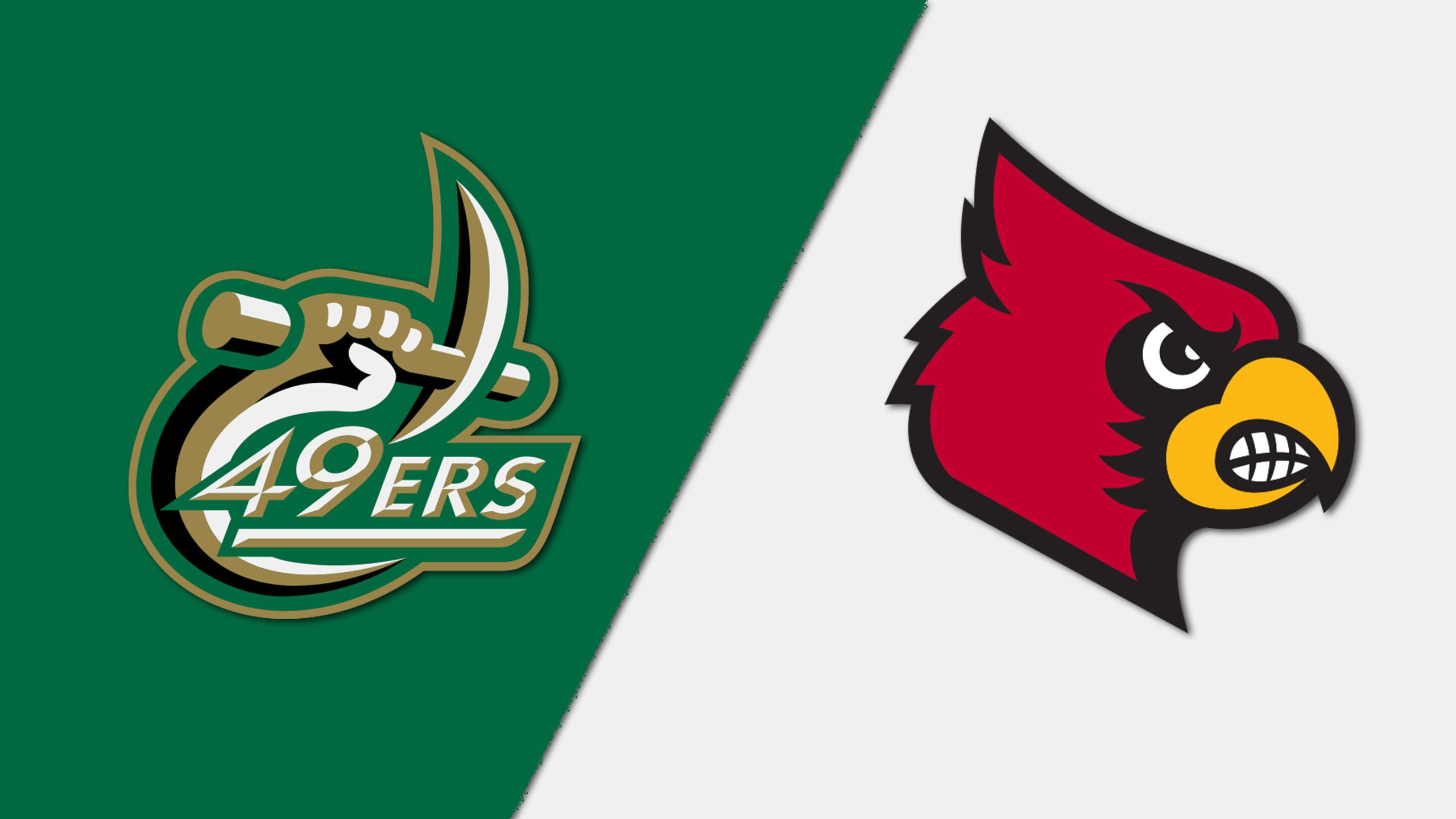 Charlotte vs. #6 Louisville (M Soccer)