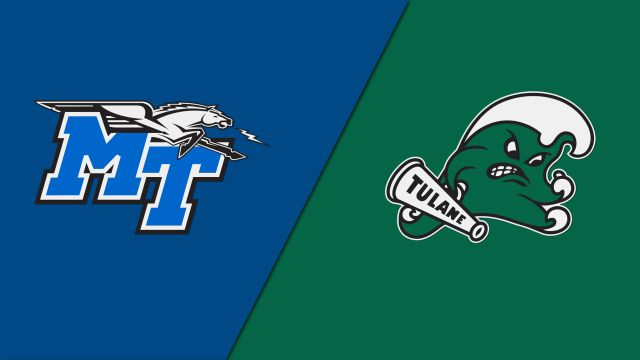 Middle Tennessee vs. Tulane (Consolation Round)
