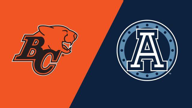 BC Lions vs. Toronto Argonauts