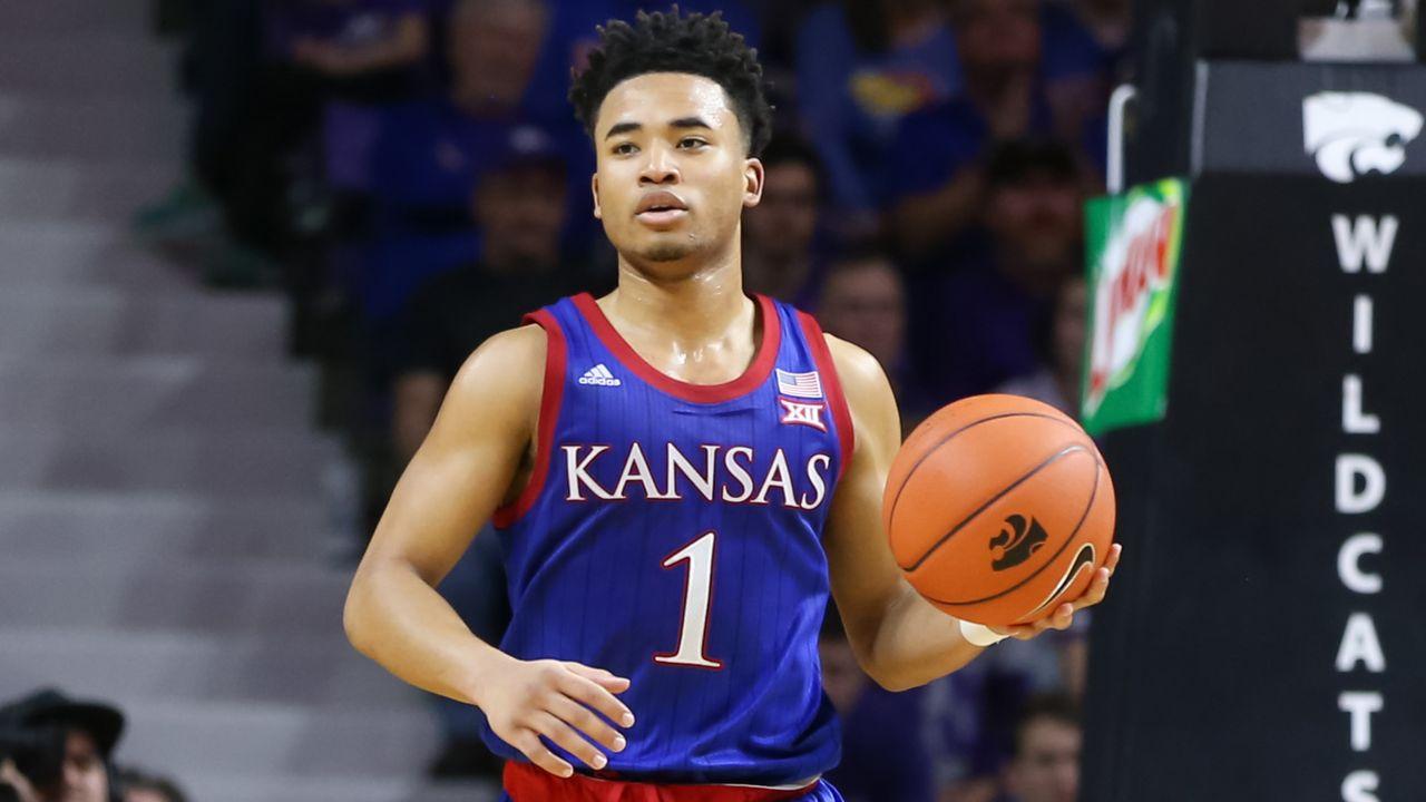 1 Kansas Vs Texas Tech M Basketball Watch Espn
