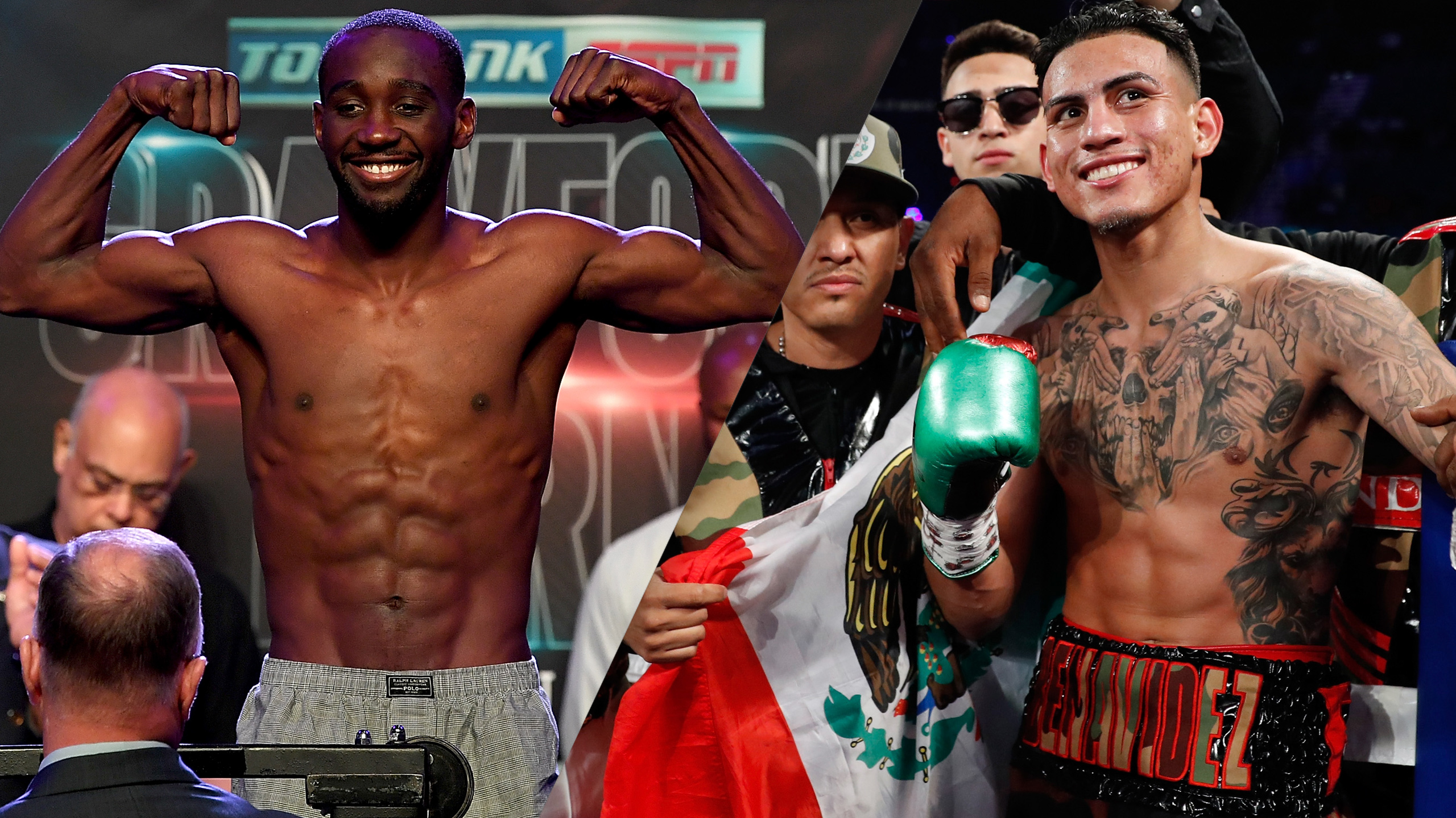 Top Rank Boxing on ESPN: Crawford vs. Benavidez Jr. Weigh-In