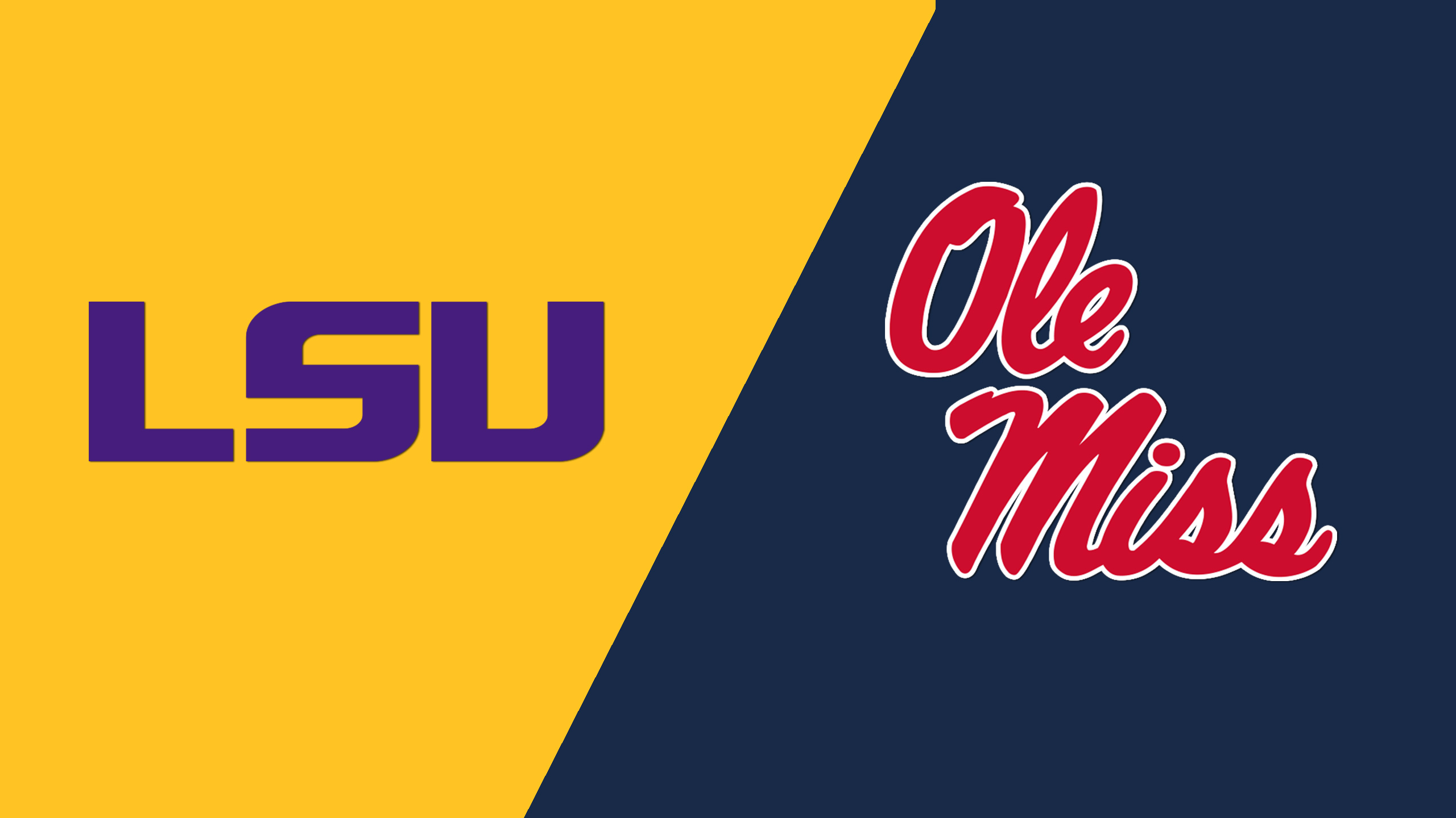 LSU vs. #18 Ole Miss (M Basketball) (re-air)