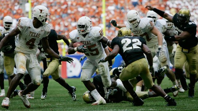 Texas Longhorns vs. Colorado Buffaloes (ESPN Classic Football)