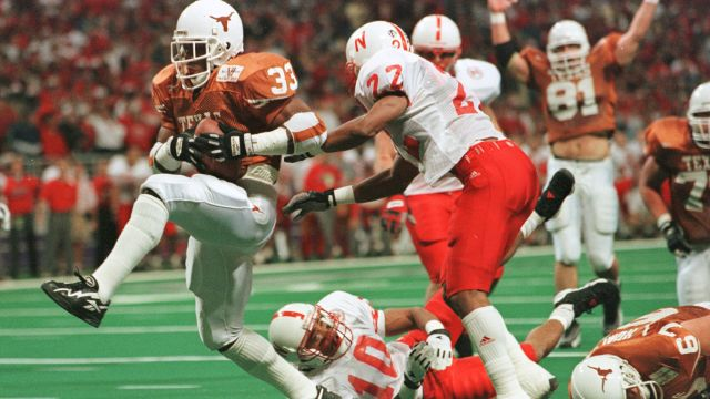 Nebraska Cornhuskers vs. Texas Longhorns (ESPN Classic Football)