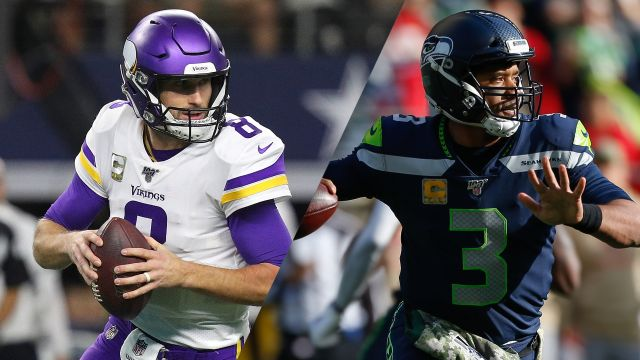 Minnesota Vikings vs. Seattle Seahawks