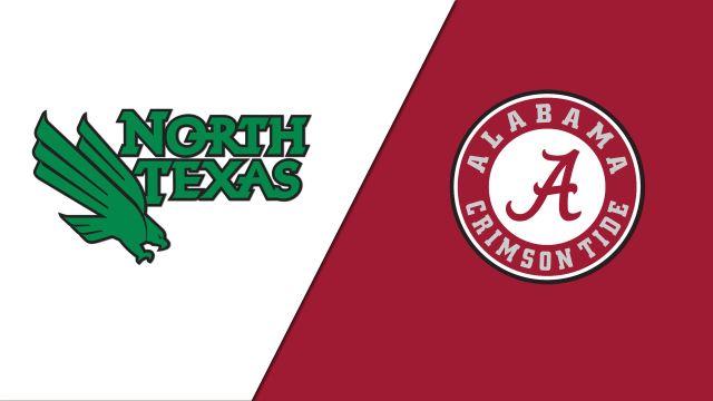 North Texas vs. Alabama (W Soccer)