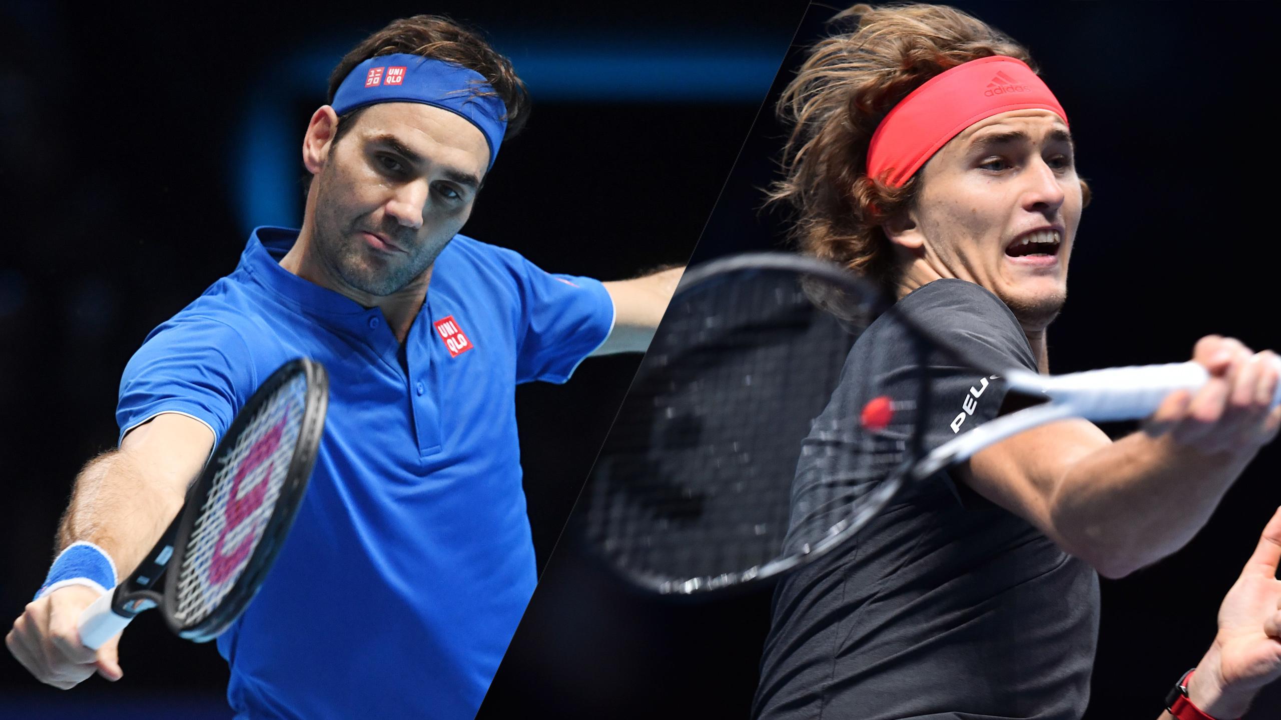 (2) Federer vs. (3) Zverev (Semifinal #1)