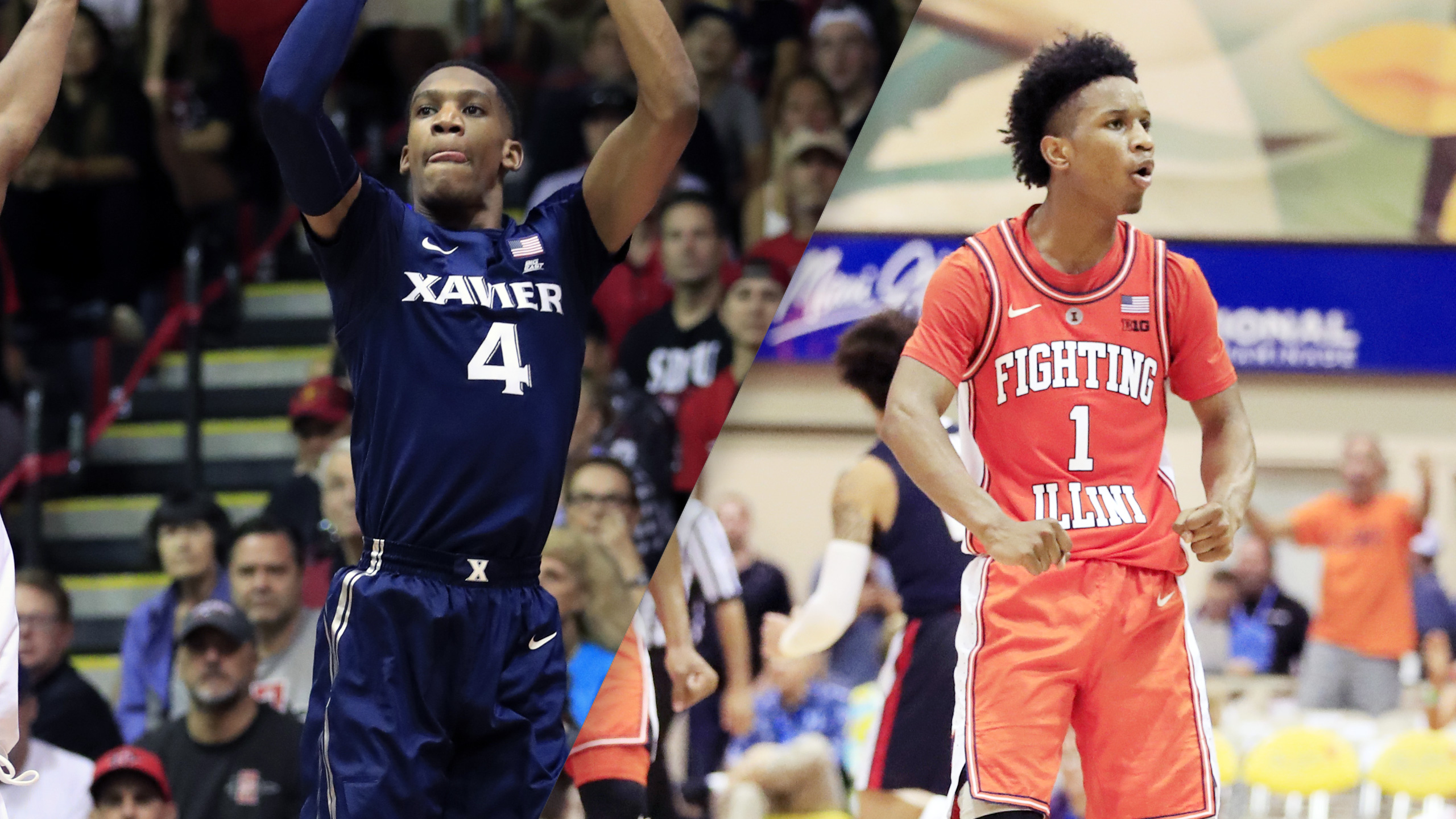 Xavier vs. Illinois (7th Place Game)