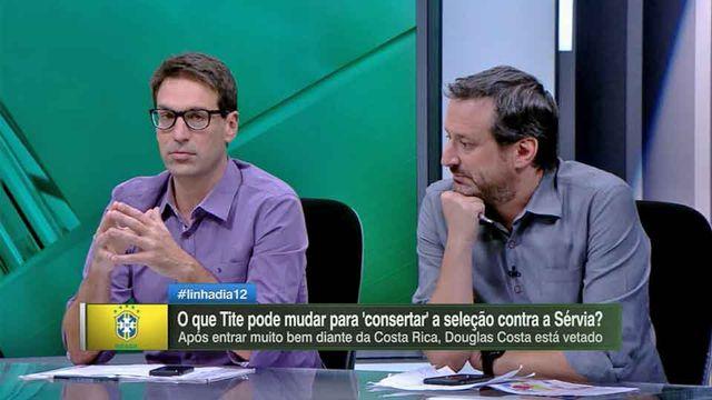 Arnaldo vê jogadores do Brasil 'presos' em posições: 'Limitação do Tite'