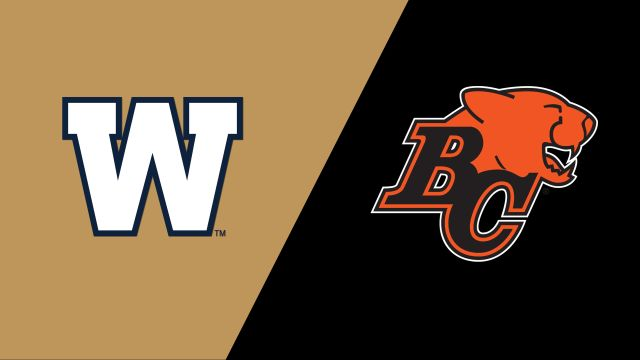 Winnipeg Blue Bombers vs. BC Lions