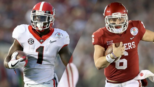Georgia vs. Oklahoma (Semifinal)