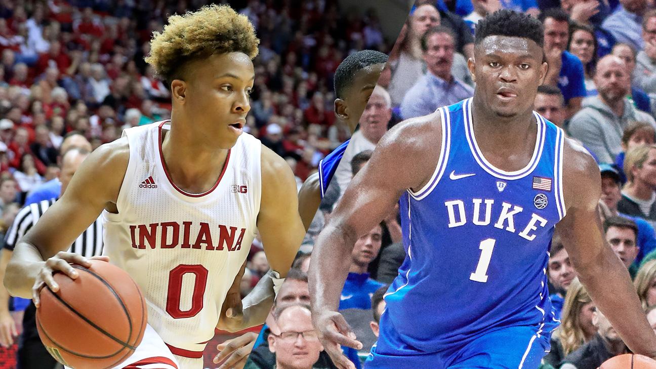 Indiana vs. #3 Duke (M Basketball)