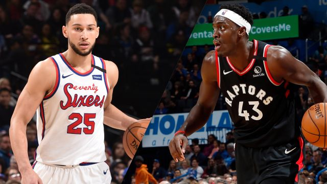 In Spanish-Philadelphia 76ers vs. Toronto Raptors