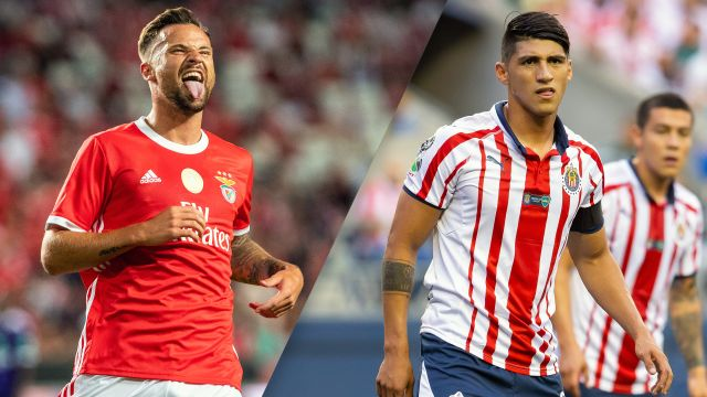 In Spanish-Benfica vs. Chivas (International Champions Cup)