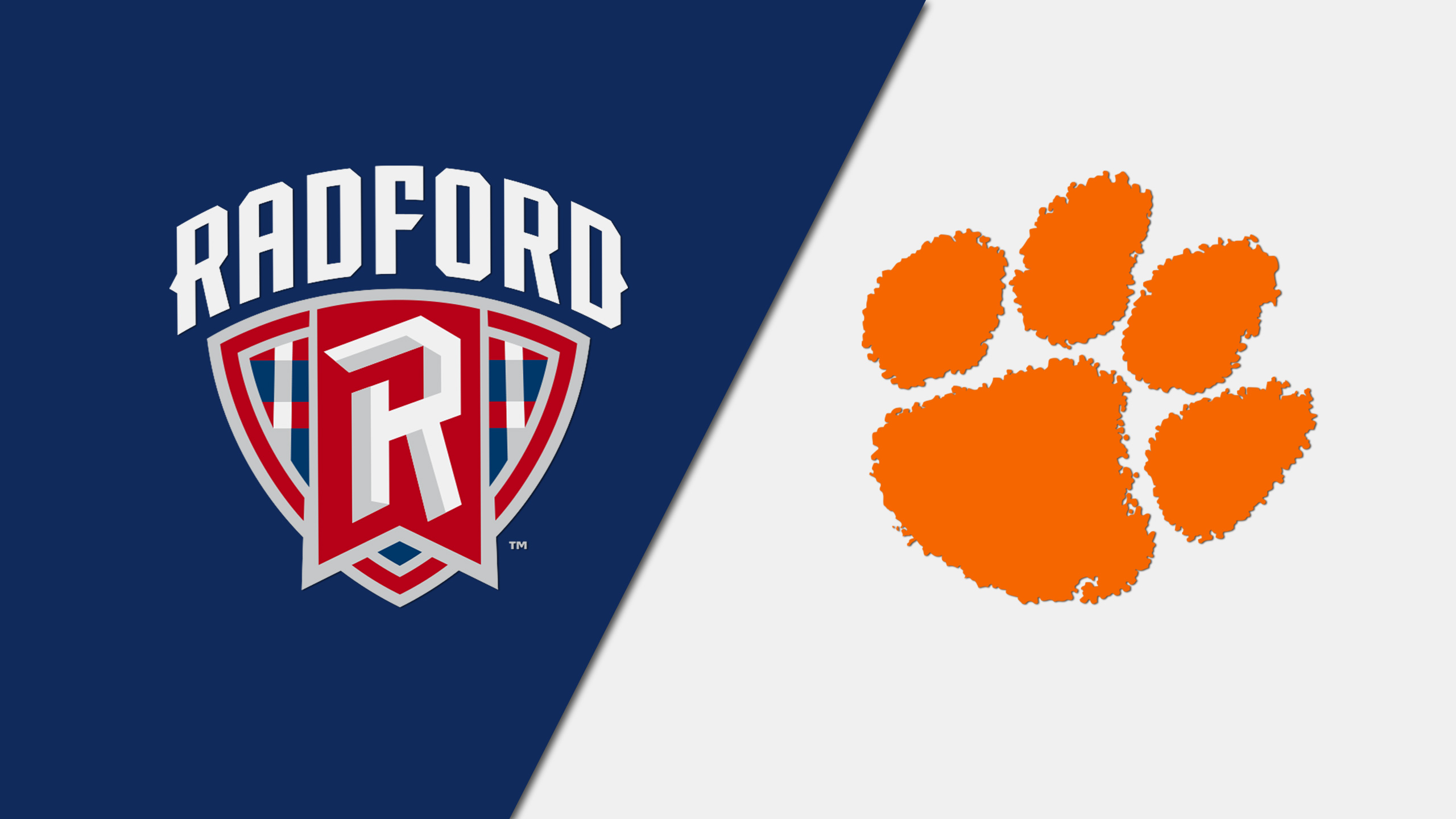 Radford vs. Clemson (M Basketball)