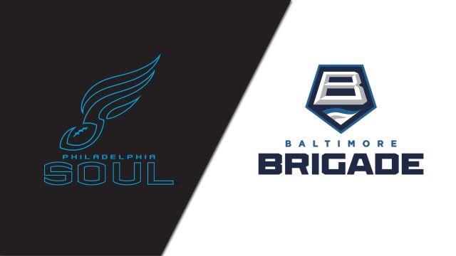 Philadelphia Soul vs. Baltimore Brigade (Arena Football League)