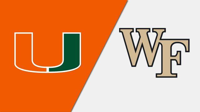 Miami vs. Wake Forest (W Volleyball)