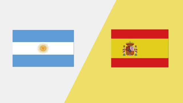 Argentina vs. Spain