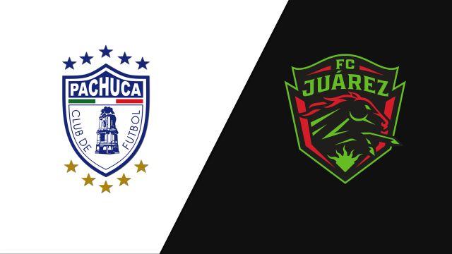 In Spanish-Tuzos del Pachuca vs. FC Juárez (Jornada 14) (Liga MX)