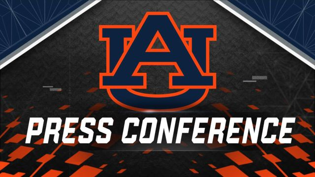 Auburn Football Press Conference