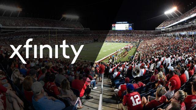Xfinity SkyCam: MIA vs. FLA (Football)