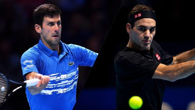 Thu, 11/14 - (2) Djokovic vs. (3) Federer