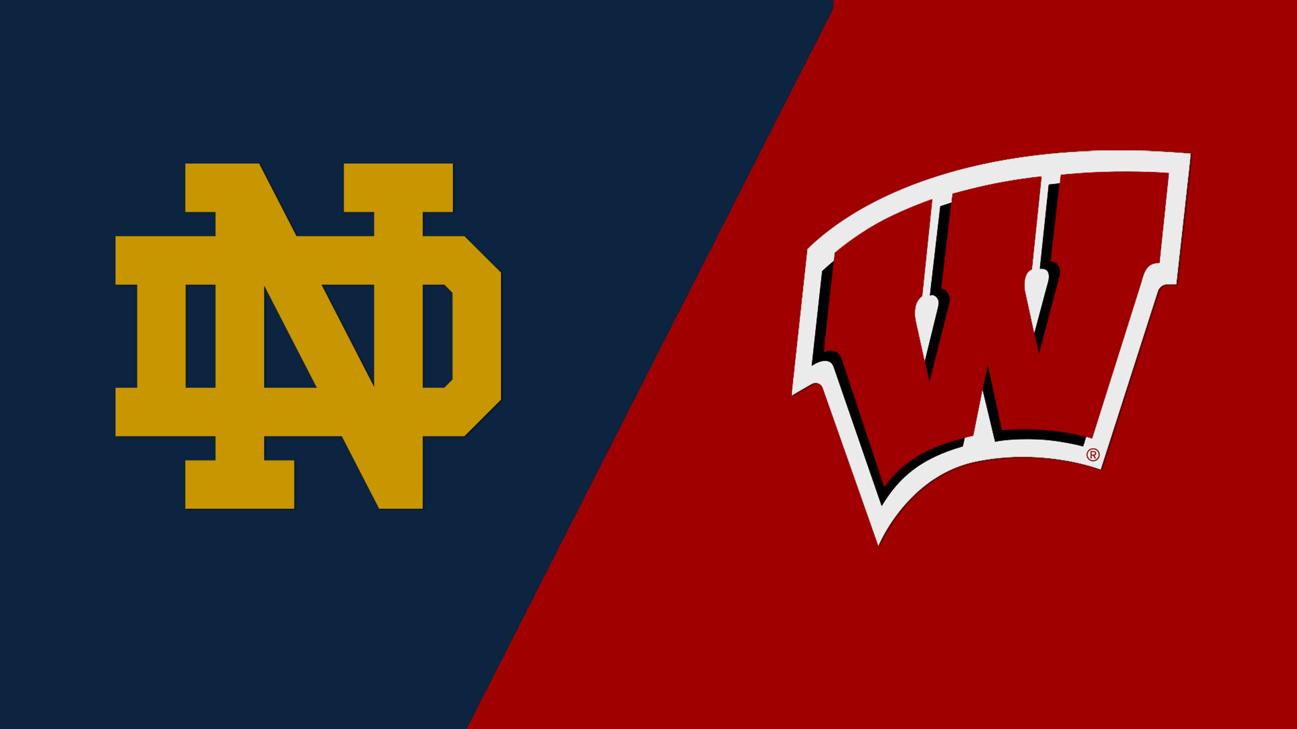 #13 Notre Dame vs. Wisconsin (M Hockey) (re-air)