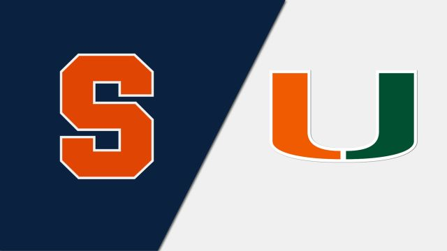 Syracuse vs. Miami (W Volleyball)