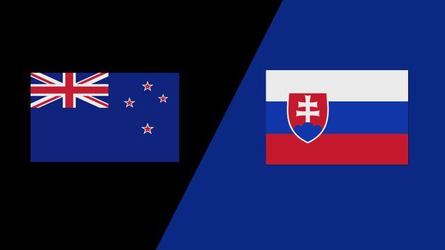 New Zealand vs. Slovakia