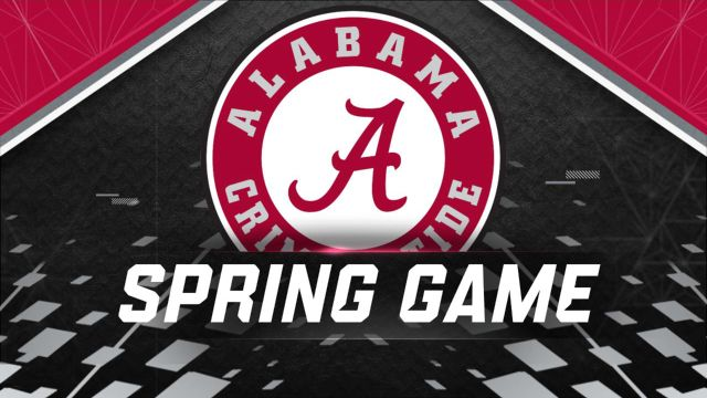Alabama Spring Football Game