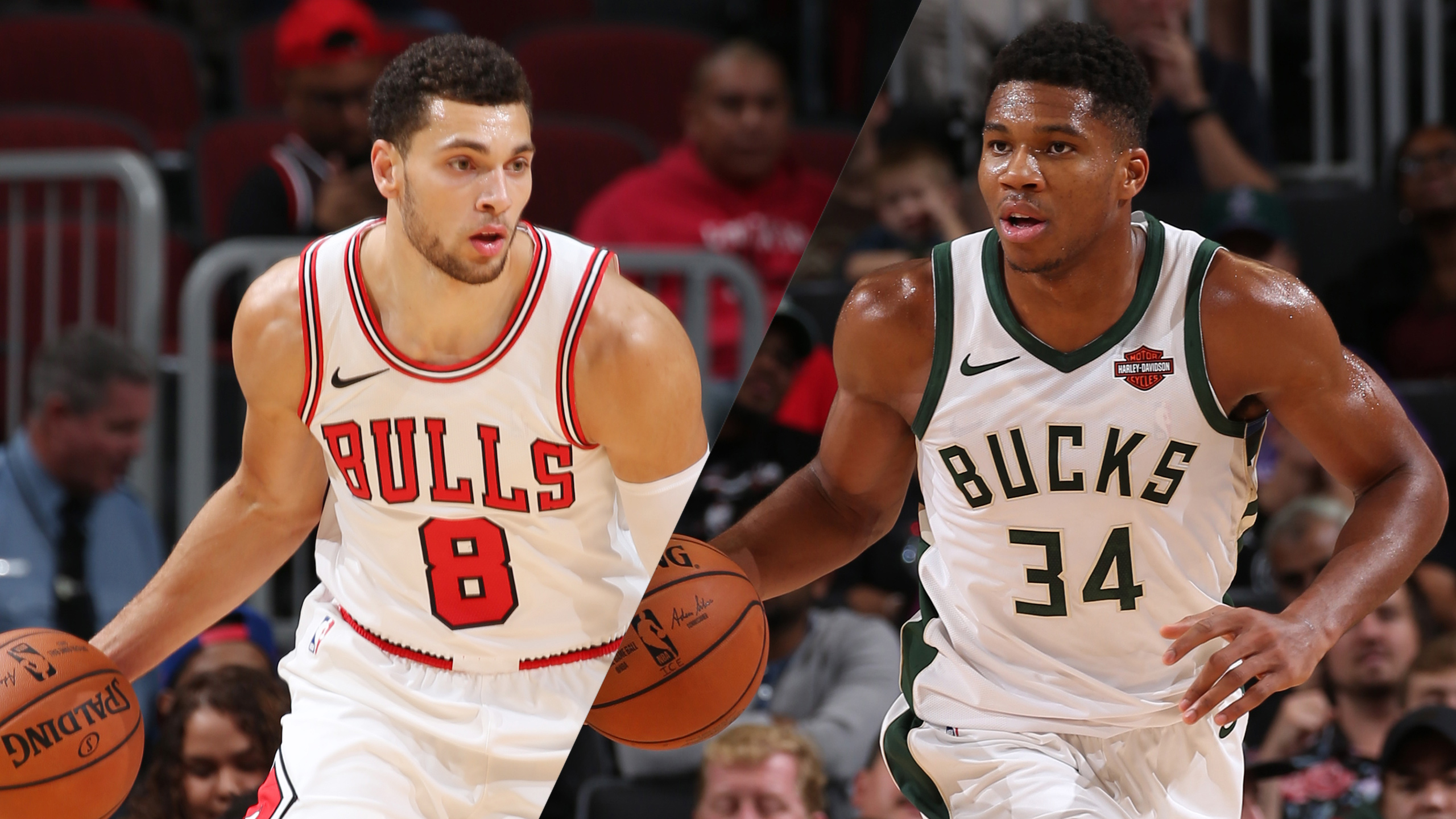 Chicago Bulls vs. Milwaukee Bucks (re-air)