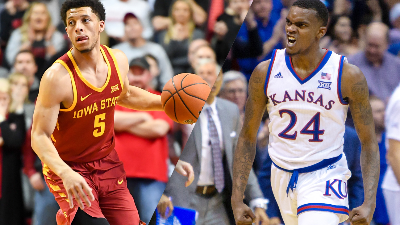 #24 Iowa State vs. #9 Kansas (M Basketball) (re-air)