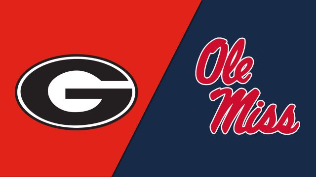 #6 Georgia vs. #23 Ole Miss (Semifinal #1) (Baseball)