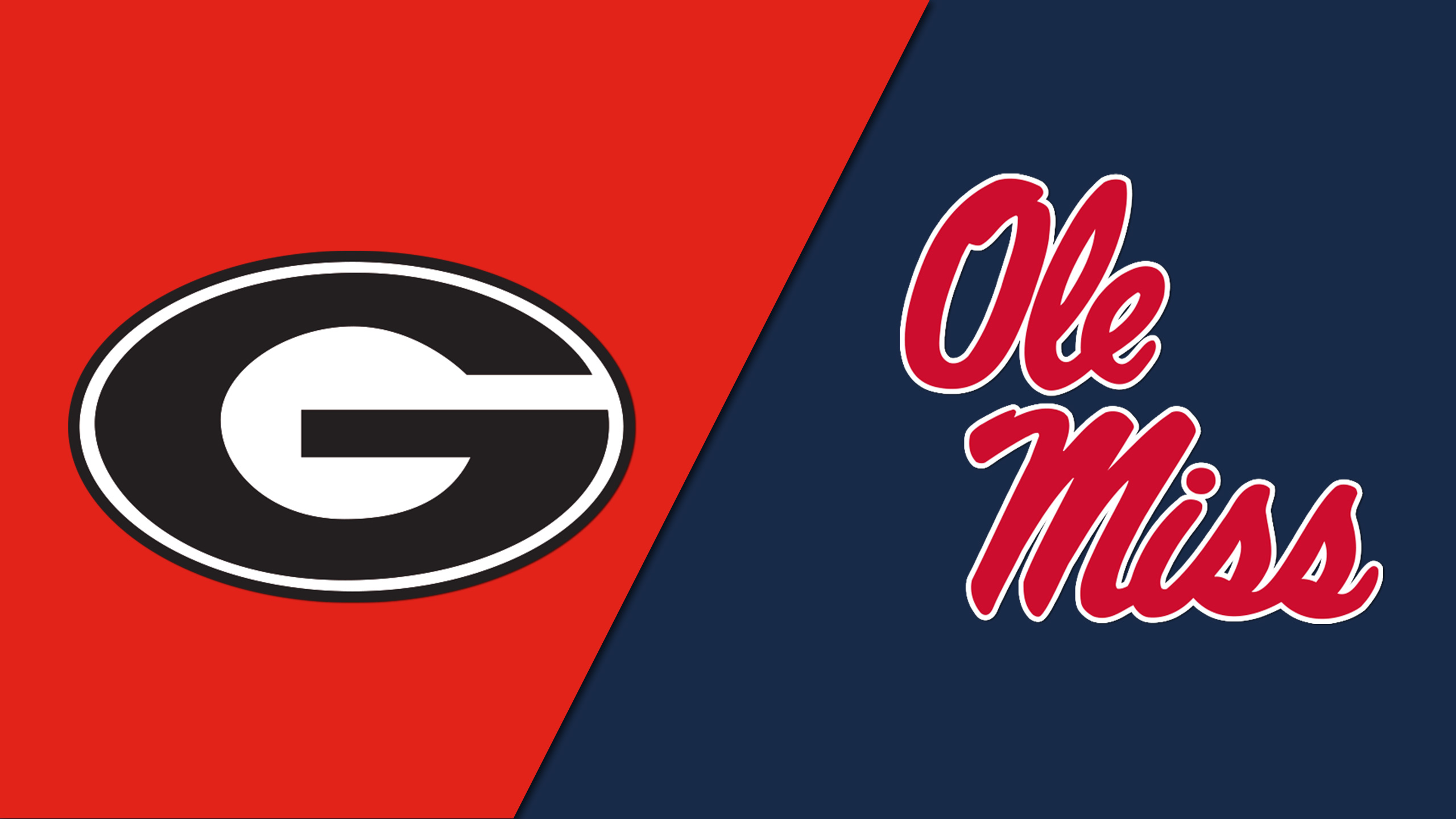 Georgia vs. Ole Miss (Semifinal #1) (re-air)