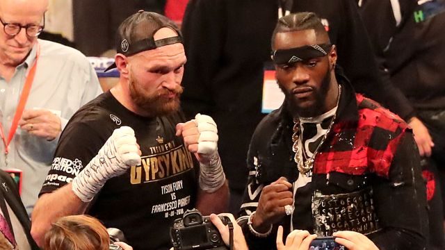 Wed, 2/19 - Press Conference: Deontay Wilder vs. Tyson Fury II