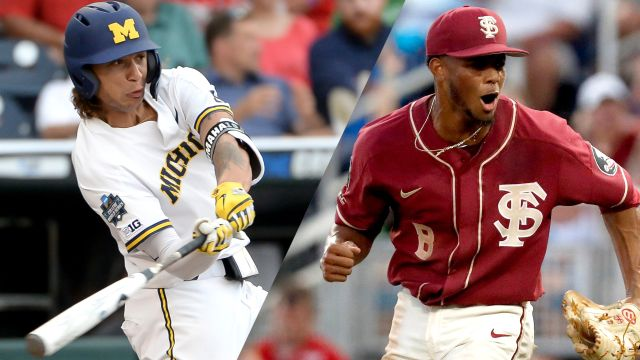 Michigan vs. Florida State (Game 6) (College World Series) - ESPN3 Surround