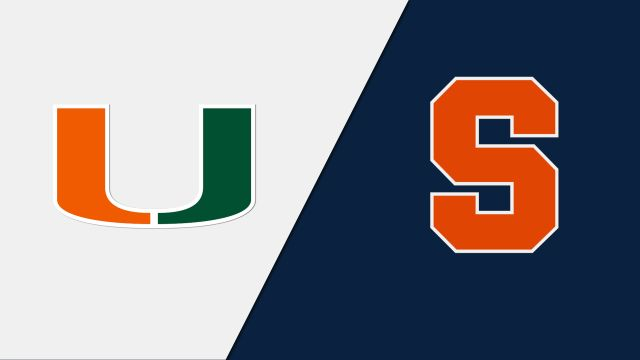 Miami vs. Syracuse (W Soccer)