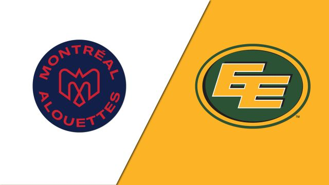Montreal Alouettes vs. Edmonton Eskimos (Canadian Football League)