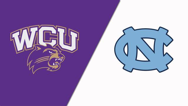 Western Carolina vs. North Carolina (W Basketball)