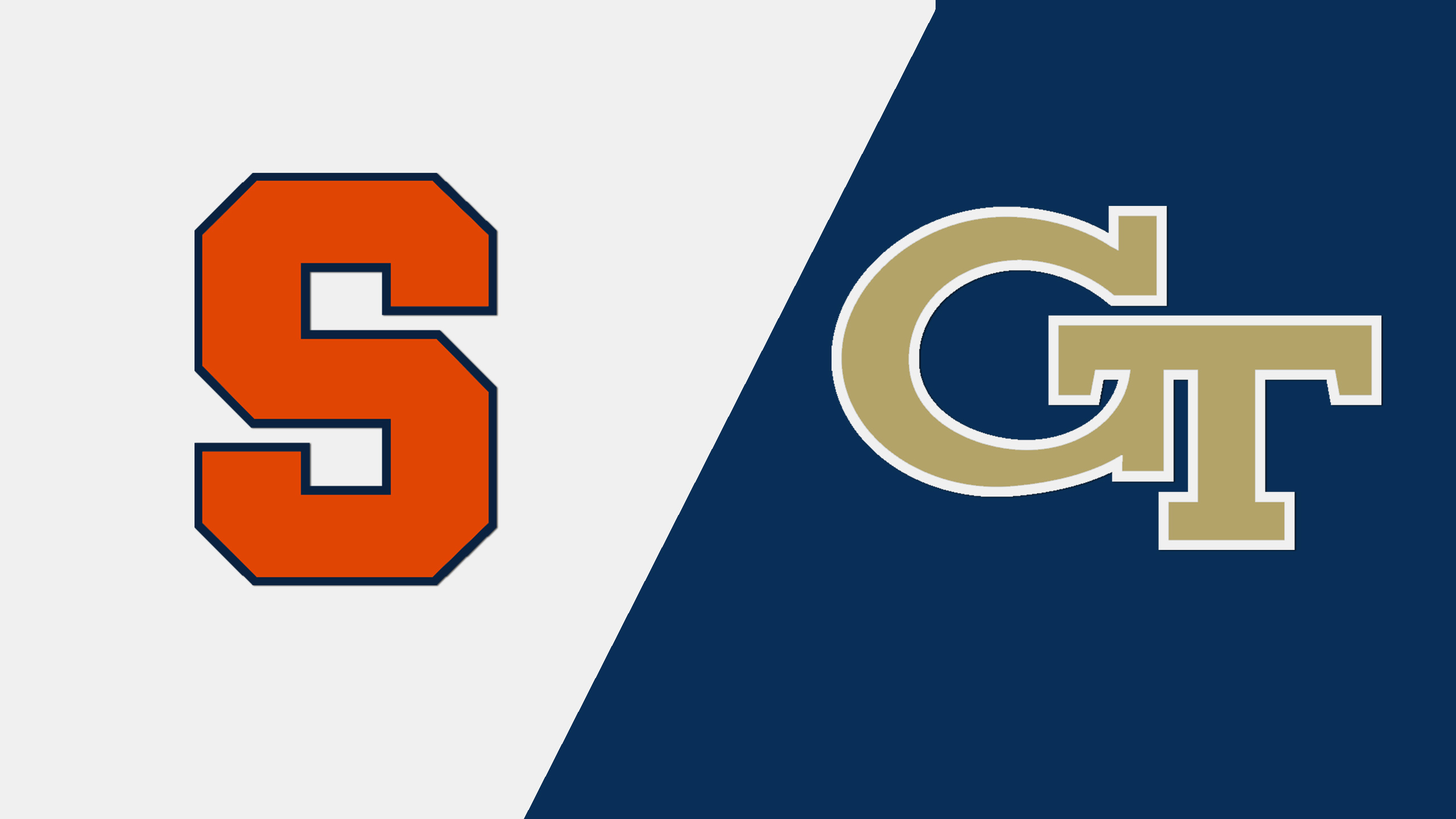 #12 Syracuse vs. Georgia Tech (W Basketball)