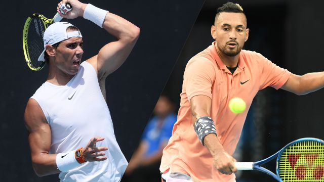 (1) Nadal vs. (23) Kyrgios (Men's Fourth Round)