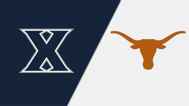 #3 Xavier vs. #2 Texas (Second Round)