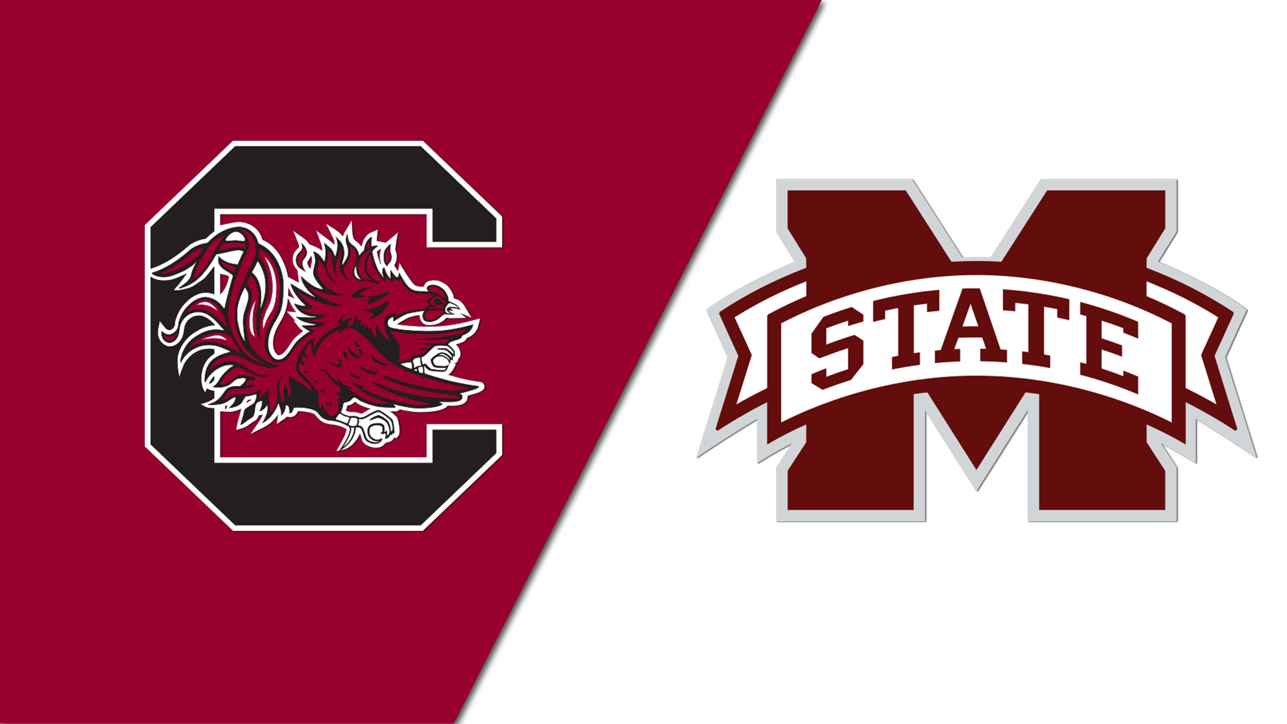 #15 South Carolina vs. #7 Mississippi State (W Basketball) (re-air)