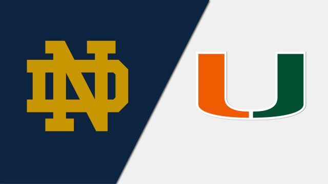 Notre Dame vs. Miami (W Volleyball)