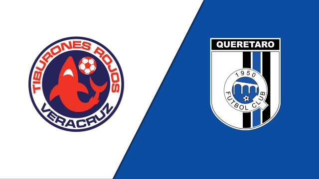 In Spanish-Tiburones Rojos de Veracruz vs. Gallos Blancos de Querétaro (Jornada 7) (Liga MX)