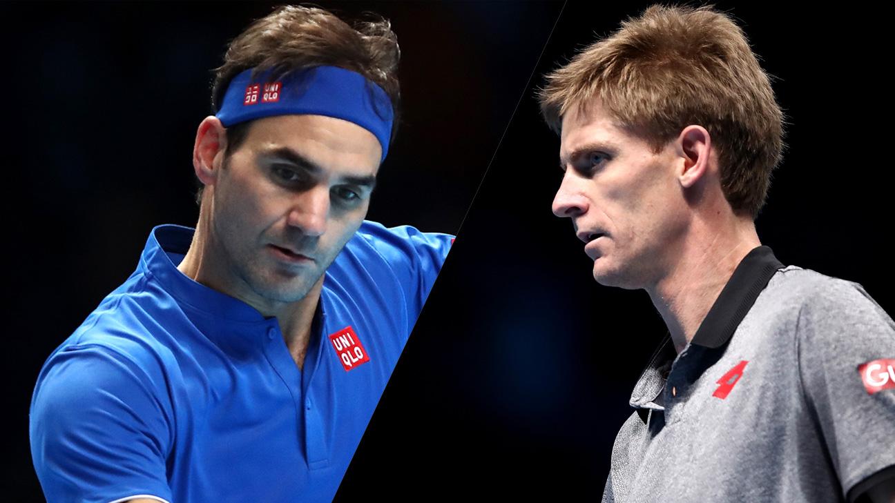 (2) Federer vs. (4) Anderson (Round Robin)