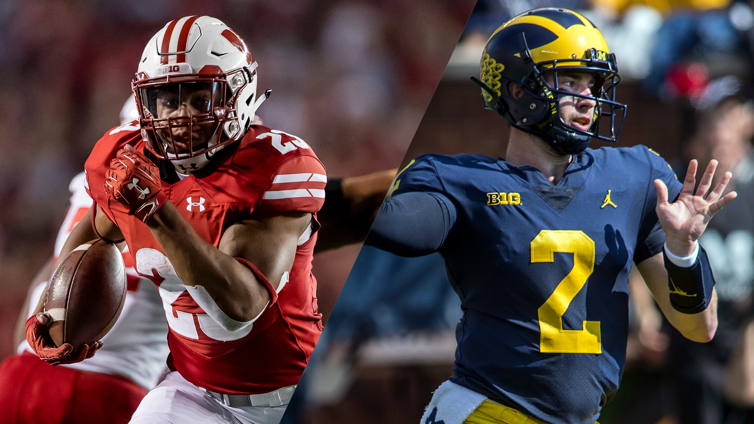 #15 Wisconsin vs. #12 Michigan (Football) (re-air)