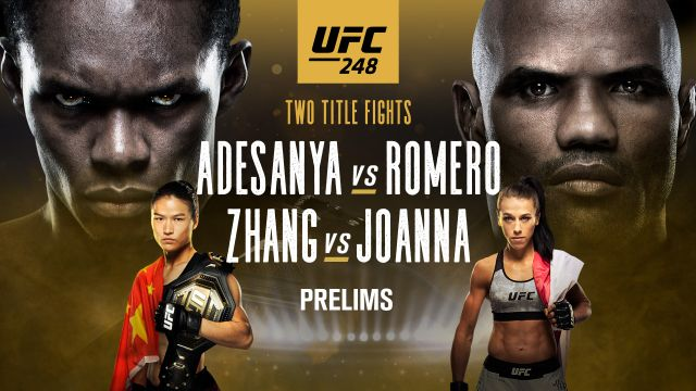 UFC 248: Adesanya vs. Romero presented by Modelo (Prelims)
