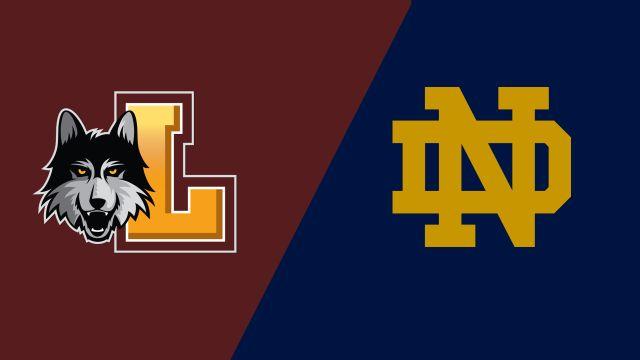 Loyola vs. Notre Dame (W Soccer)